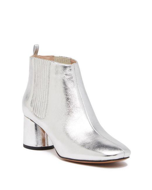 Marc Jacobs - Rocket Metallic Leather Chelsea Boot - Lyst
