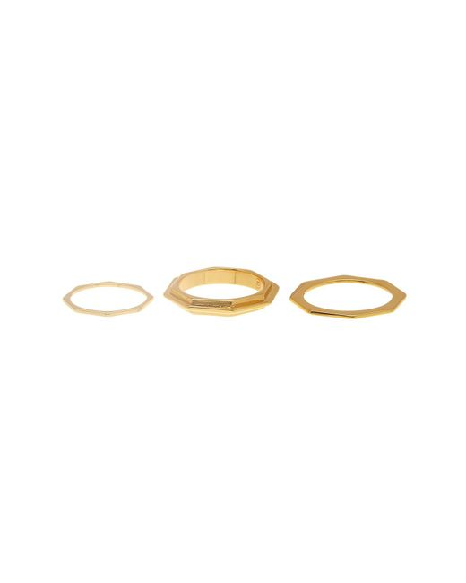 Gorjana | Metallic Peytin Ring Set - Size 6 | Lyst