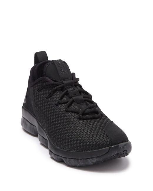 detailed look f0966 8996d Men's Black Lebron Xiv Low Sneaker