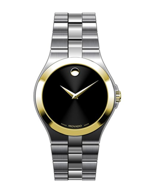 Movado - Metallic Men's Collection Two-tone Watch for Men - Lyst
