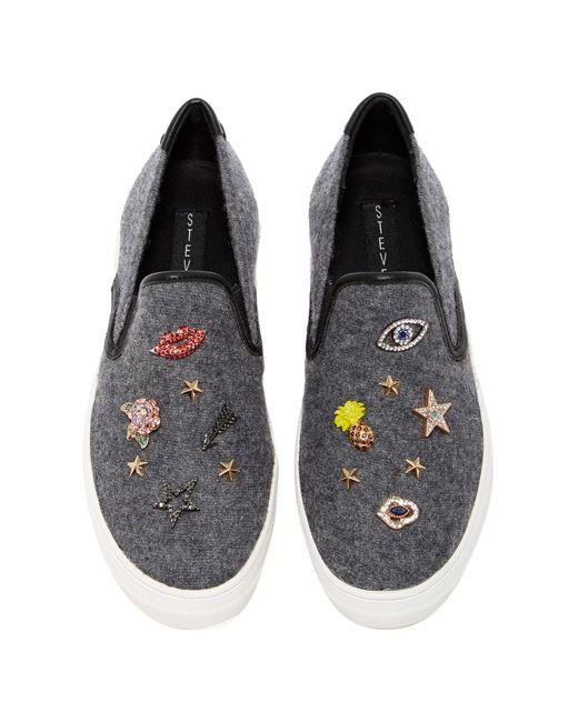 Steve Madden Slip On Shoes Pins