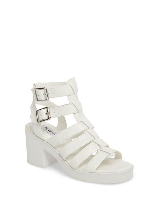 Steve Madden - White Clue Platform Sandal (women) - Lyst