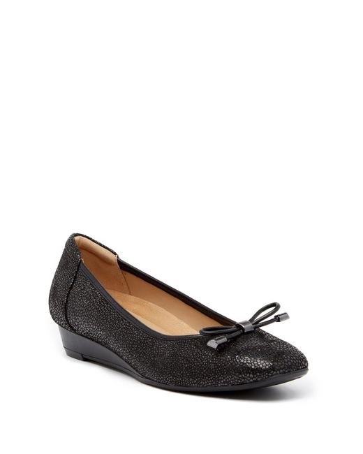 Naturalizer - Black Dove Iridescent Flat - Multiple Widths Available - Lyst