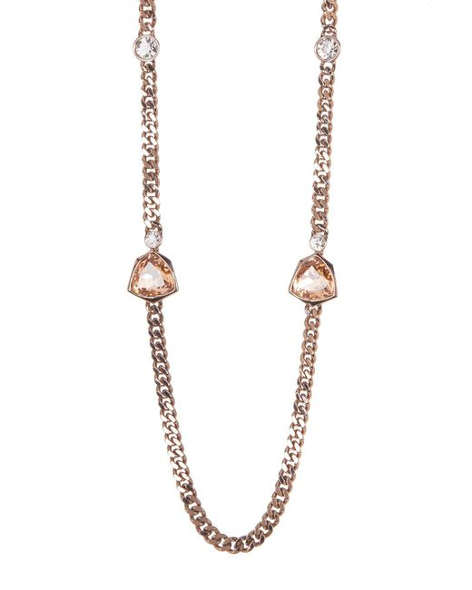 Givenchy - Metallic Crystal Strand Necklace - Lyst