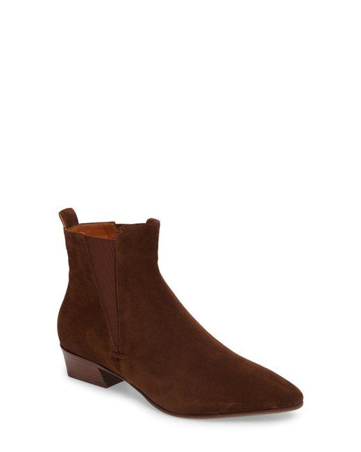 Aquatalia - Brown Fabienne Weatherproof Chelsea Boot - Lyst