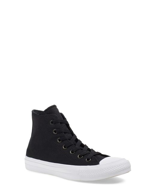 Converse | Black Chuck Taylor(r) All Star(r) 'chuck Ii' High Top Sneaker (women) | Lyst