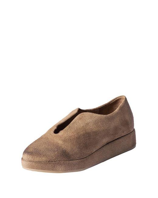 Antelope Brown Suede Flatform Sneaker