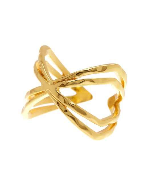 Gorjana - Metallic Skyler Cuff Ring - Size 6 - Lyst