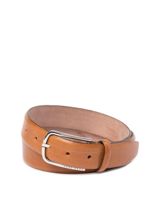 BOSS - Brown Celino Leather Belt for Men - Lyst