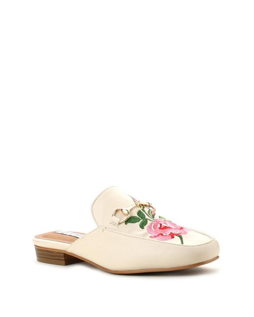 Cape Robbin | Natural Adele Slip-on Mule | Lyst
