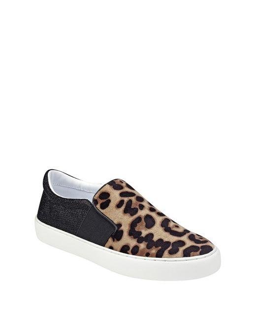 Marc Fisher Calie Navy Blue Velvet Slip On Fashion Sneaker Shoe NEW
