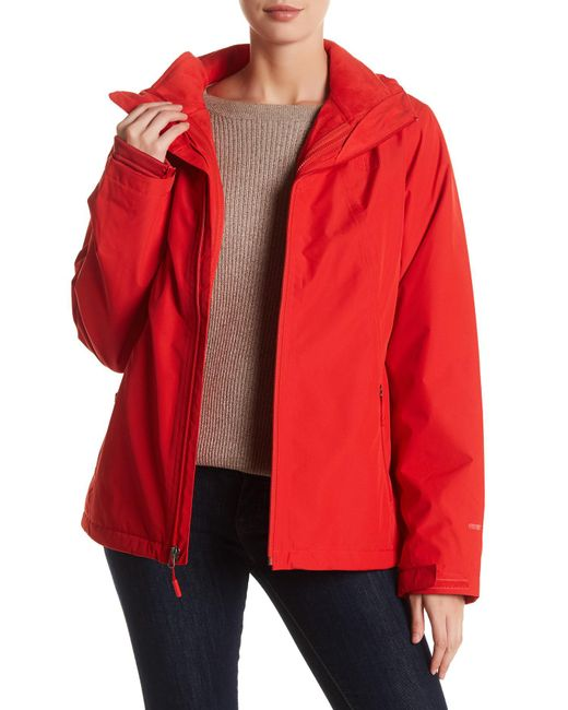The North Face | Red Highanddry Triclimate 2-in-1 Jacket | Lyst