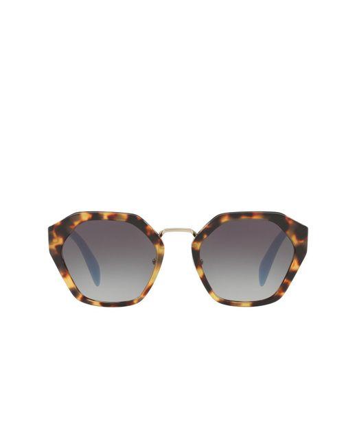 2cdfb845a4 ... Prada - Multicolor 55mm Irregular Cat Eye Sunglasses - Lyst ...