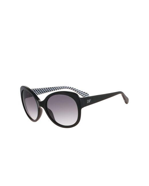 Diane von Furstenberg - Black Women's Lila Butterfly Sunglasses - Lyst