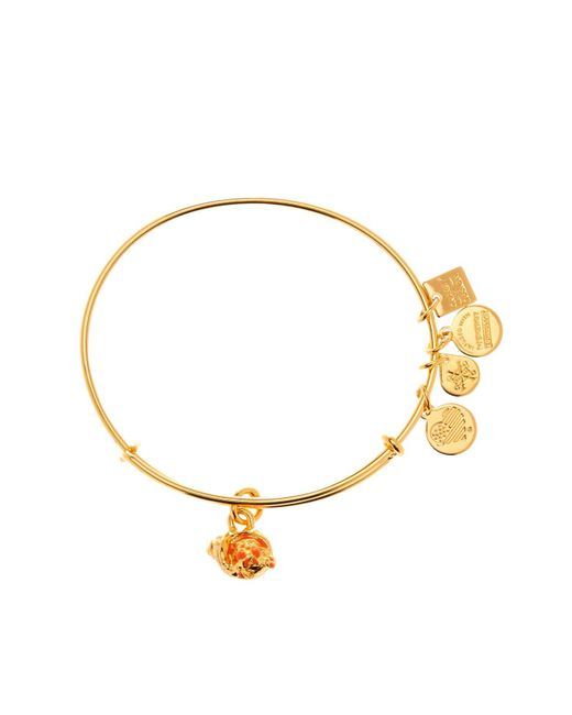 ALEX AND ANI - Metallic Charity By Design Hermit Crab Expandable Wire Bangle - Lyst