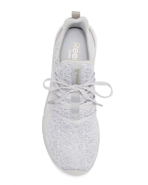 ... Reebok - Gray Print Her 3.0 Running Sneaker - Lyst ... b79c2a82f