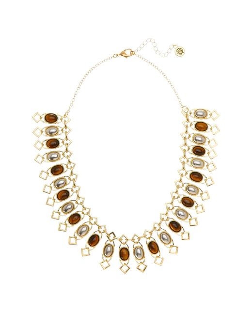 House of Harlow 1960 - Multicolor Lady Of Grace Collar Necklace - Lyst