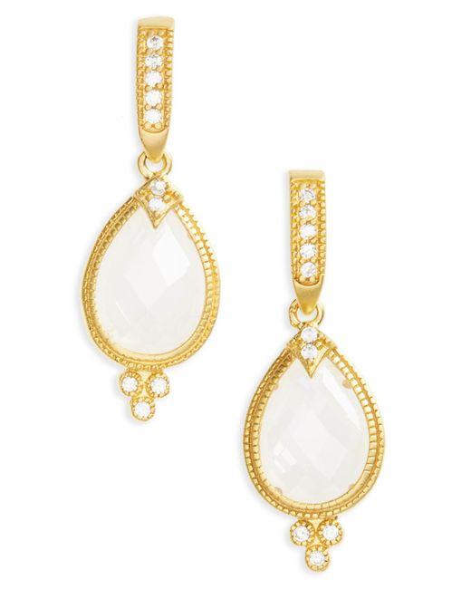 Freida Rothman - Metallic Audrey Teardrop Earrings - Lyst