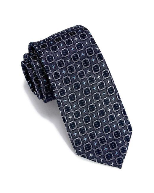 Perry Ellis - Gray Seneca Geo Print Tie for Men - Lyst