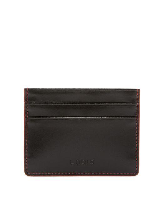 Lodis | Black Mini Leather Id Card Case | Lyst