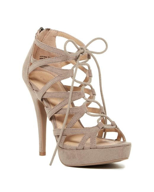 Chinese Laundry | Multicolor Hollie Lace Platform Heel | Lyst