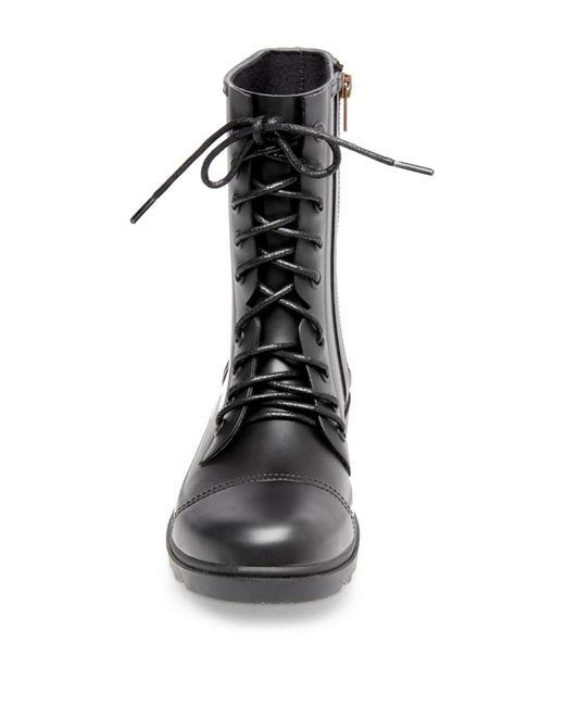 3fc1398a875 ... Steve Madden - Black Troopa Waterproof Rain Boot (women) - Lyst ...