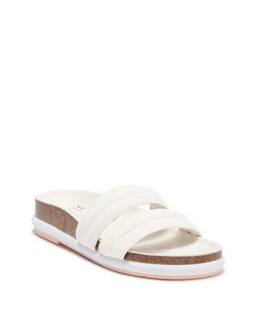 CHARLOTTE STONE Neena Leather Slide Sandal