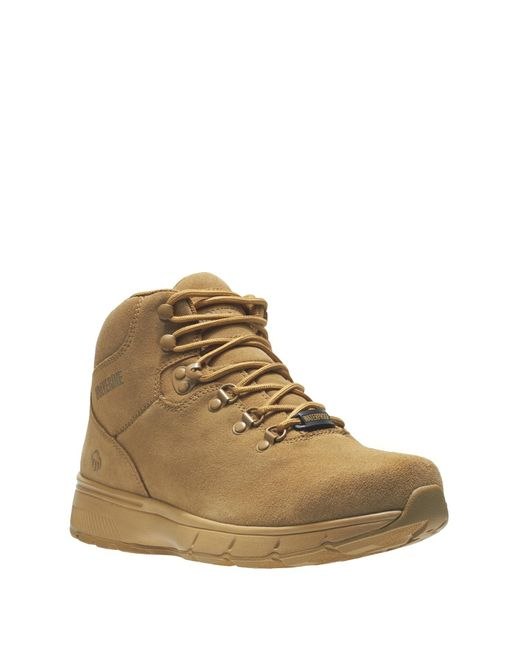 Wolverine Brown Bodi Waterproof Leather Boot for men