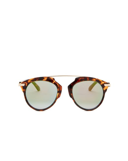Betsey Johnson - Multicolor Women's Brow Bar Sunglasses - Lyst