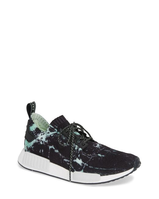 more photos 97743 05c24 Men's Black Nmd - R1 Marble Running Shoe
