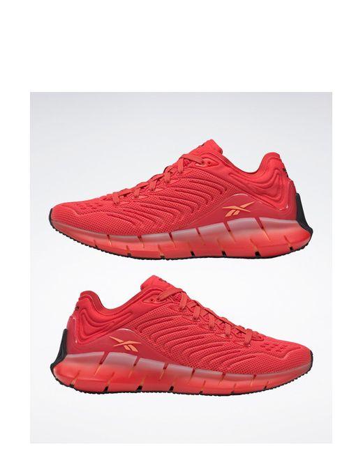 Reebok Red Zig Kinetica Sneaker for men