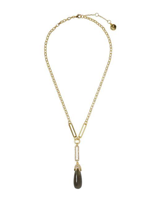 Vince Camuto Metallic Resin Pendant Necklace