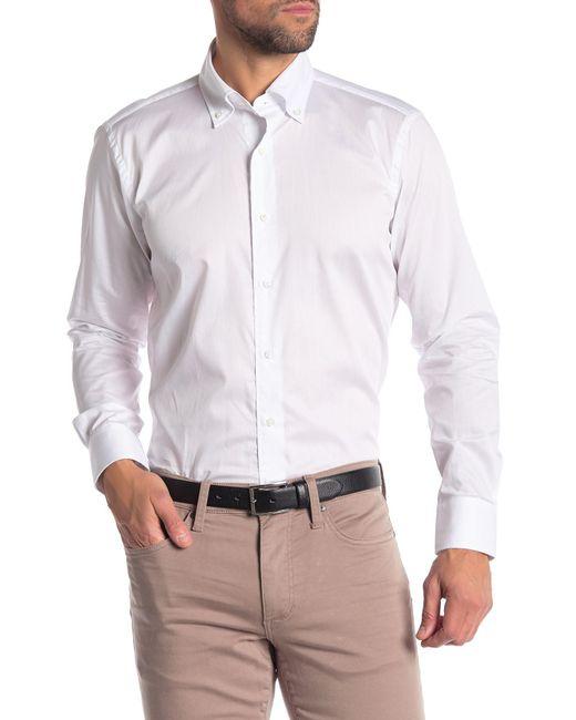 Peter Millar - White Solid Regular Fit Shirt for Men - Lyst