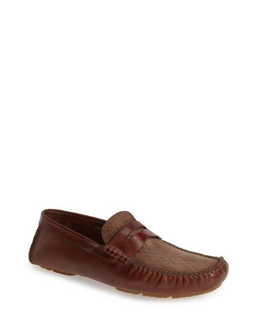 Bacco Bucci | Brown Albatros Driving Shoe for Men | Lyst