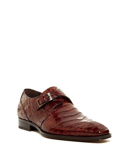 Mezlan - Brown Gables Genuine Crocodile Monk Strap Shoe for Men - Lyst