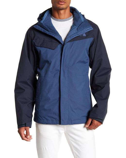 The North Face - Blue Beswell Triclimate Jacket for Men - Lyst