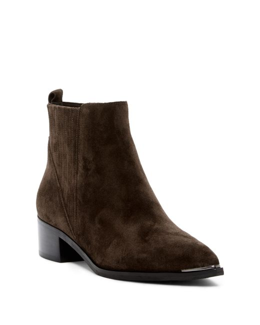 Marc Fisher - Brown Yommi Ankle Boot - Lyst