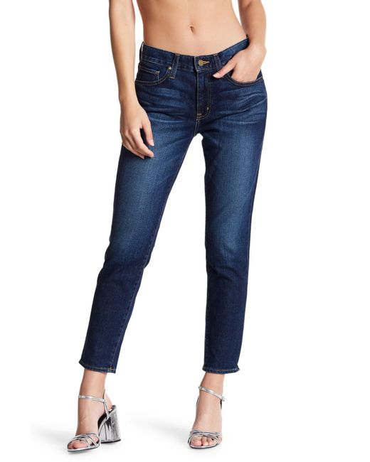 Big Star - Blue Billie Cropped Jeans - Lyst