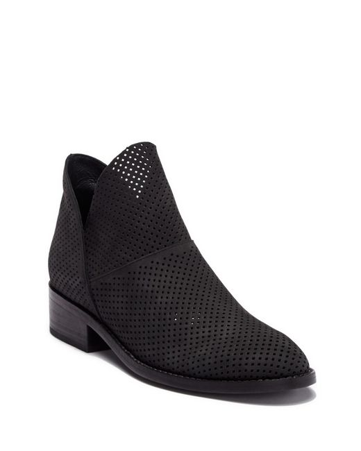 Eileen Fisher - Black Leaf 2 Leather Ankle Leather Bootie - Lyst
