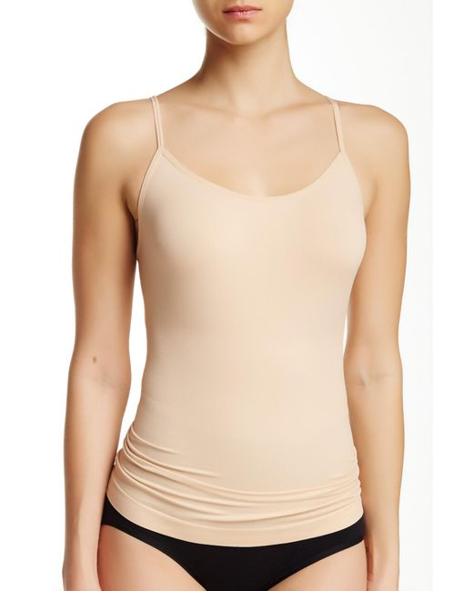 Yummie By Heather Thomson - Natural Seamless Shaping Camisole - Lyst