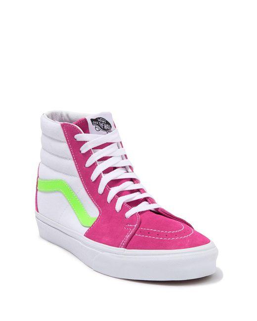 Vans Multicolor Colorblock Sk8 High Top Sneaker