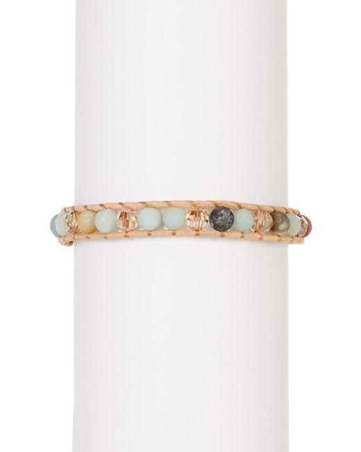 Chan Luu | Multicolor Stone Bead Ladder Detail Bracelet | Lyst