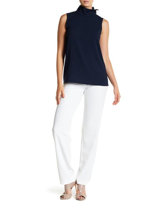 St. John | Multicolor Diana Stretch Straight Leg Pants | Lyst