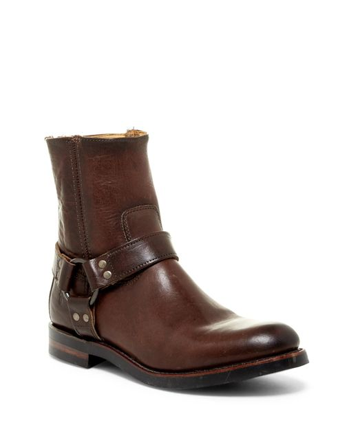 Frye | Brown Clinton Boot for Men | Lyst