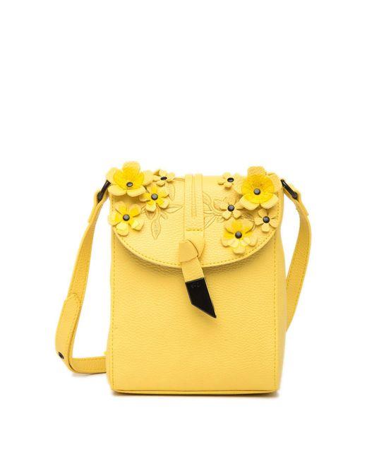 Foley + Corinna Yellow Lila Phone Bag