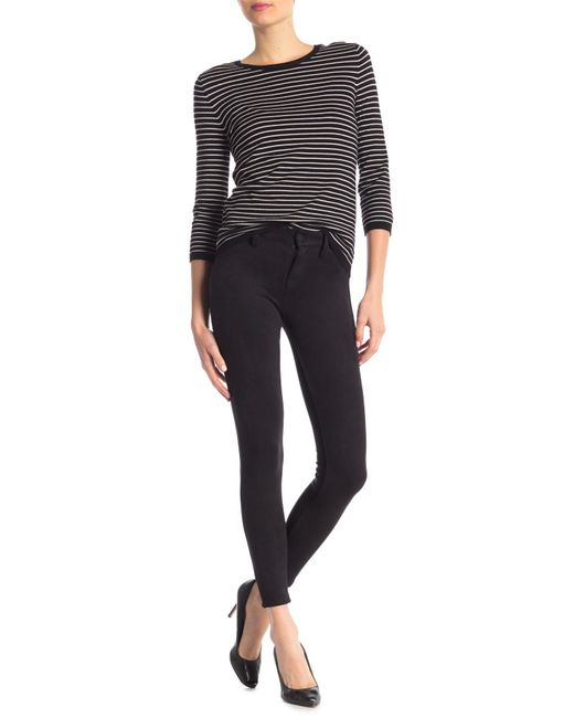 Level 99 - Black Janice Mid Rise Ultra Skinny Pants - Lyst