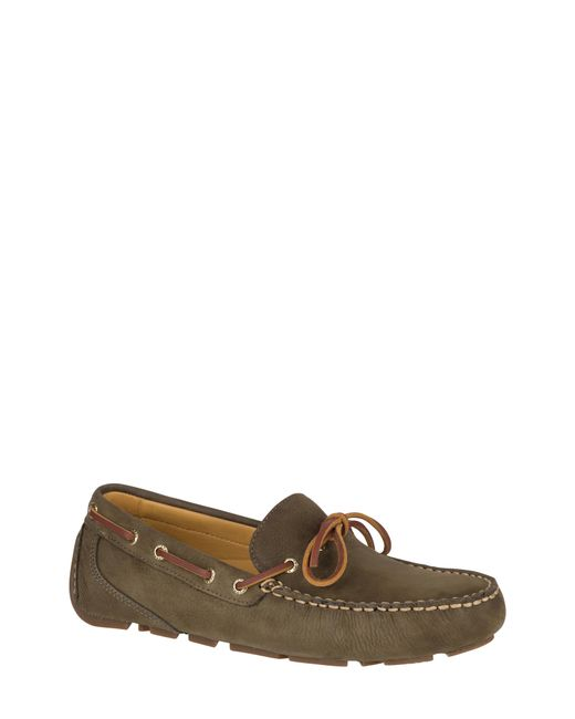Sperry Top-Sider Green Gold Harpswell 1 Eye Boat Shoe for men