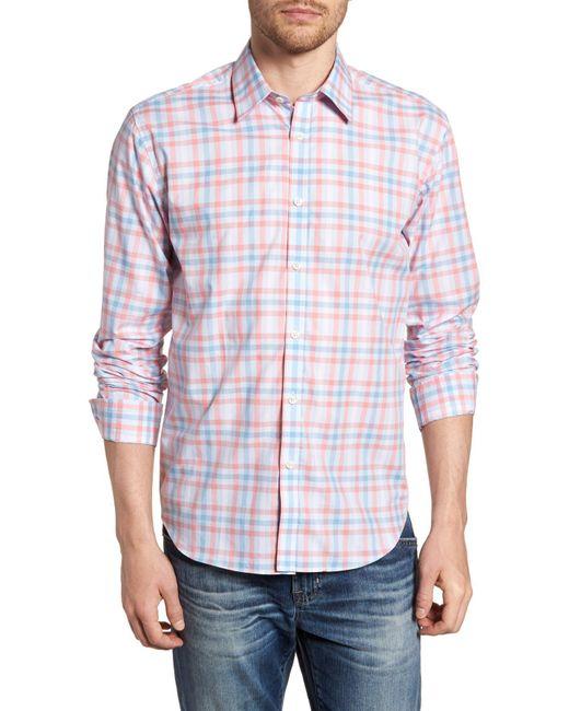 Jeremy Argyle Nyc - Multicolor Slim Fit Check Sport Shirt for Men - Lyst