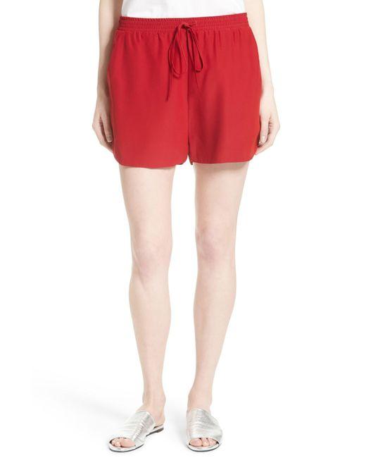 Robert Rodriguez | Red Silk Shorts | Lyst