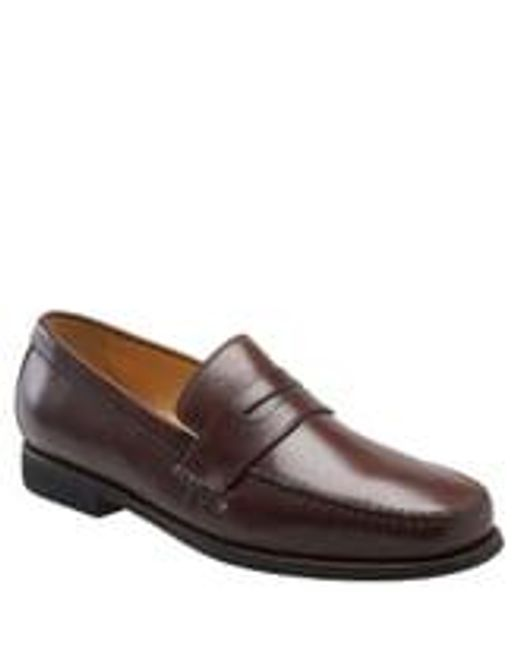 Johnston & Murphy Brown 'ainsworth' Penny Loafer for men